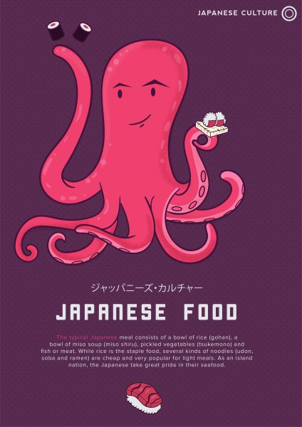 Japanese octopus: culture
