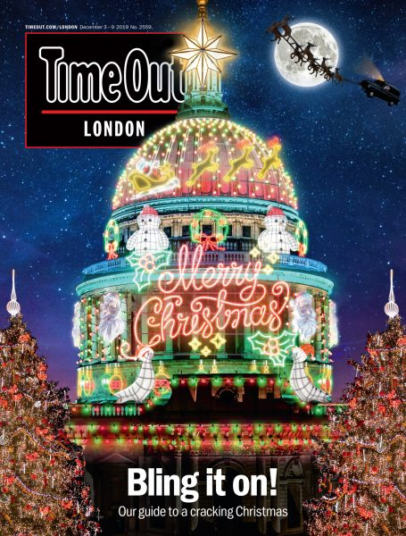 Christmas Cover / Time Out London