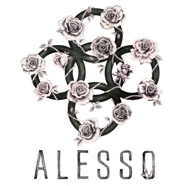 Alesso Logo Design