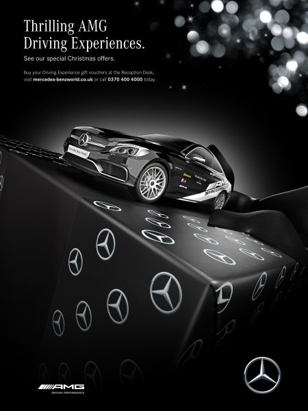 Mercedes christmas 2016 Campaign