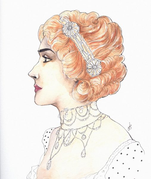 Gibson girl jewels