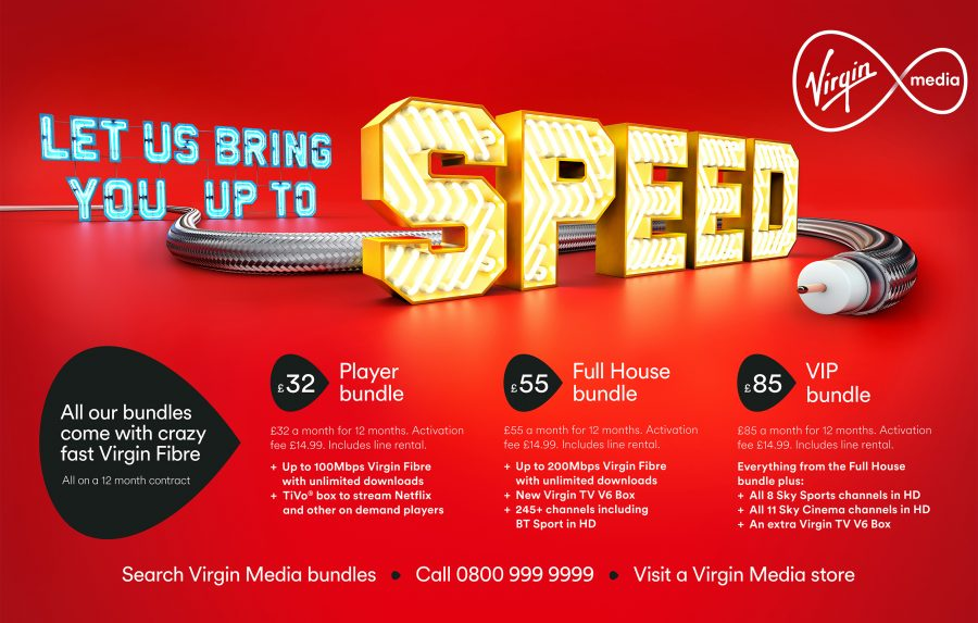 Bring You Up To Speed / Virgin Media