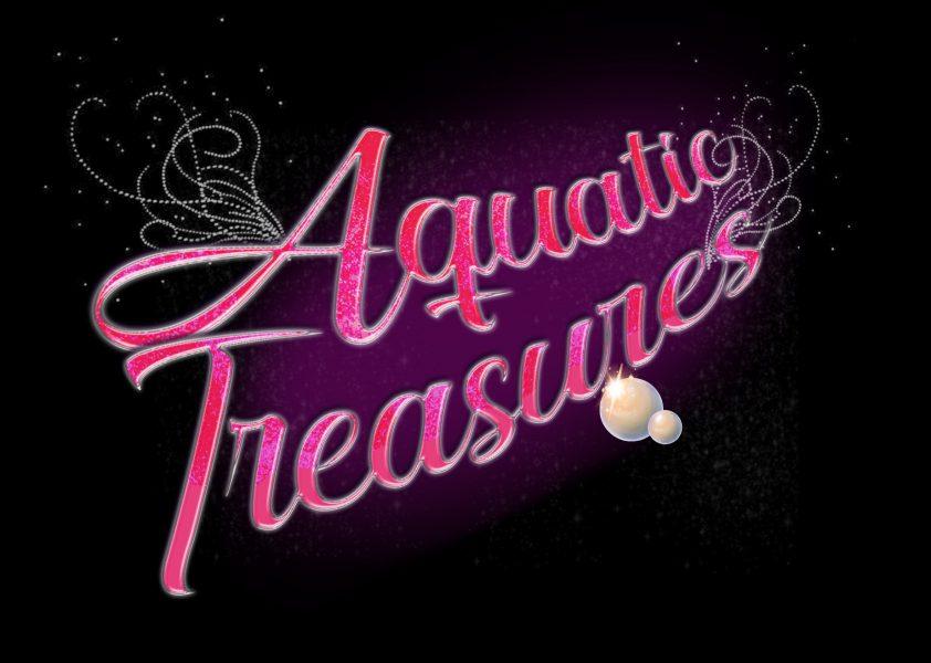 Aquatic Treasures text logo