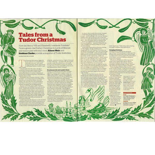 Tales From a Tudor Christmas (BBC History Magazine)