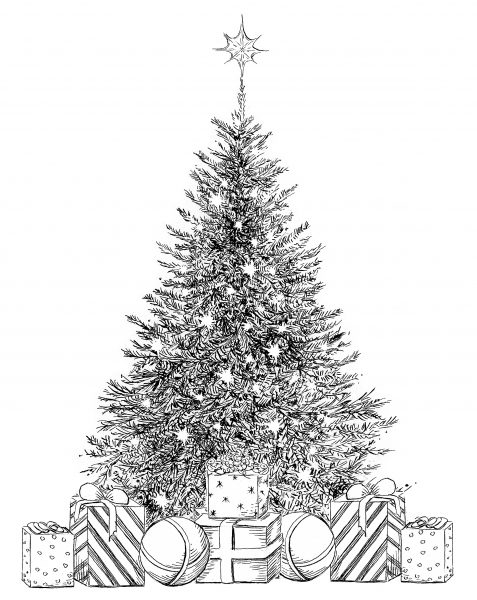 Christmas Greeting ~ Quill & Ink, The Gallery Collection