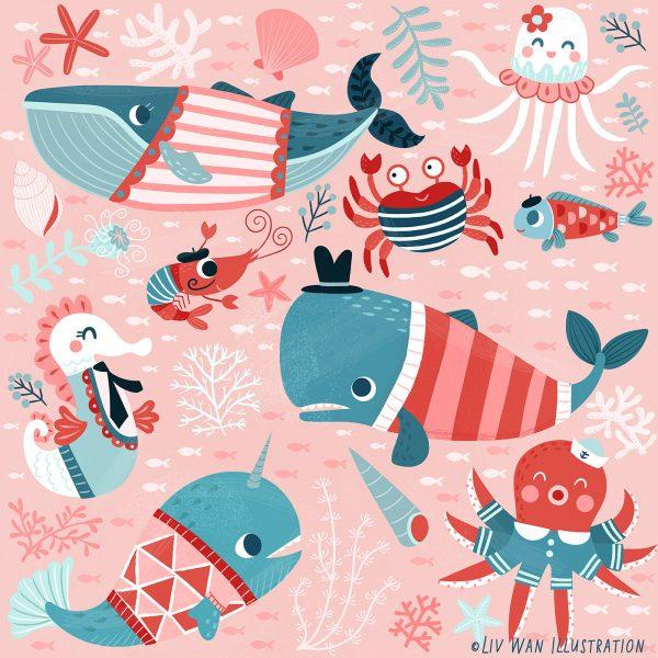 LivWan-Ocean-child-fabric-pattern-licensing-1