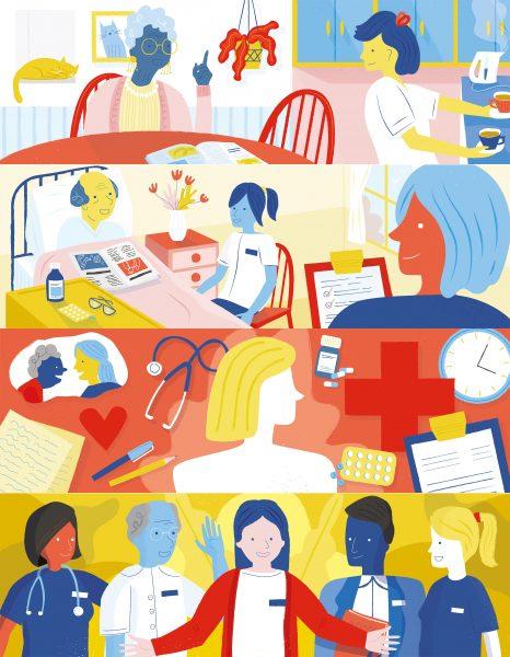 Nursefinders Branding