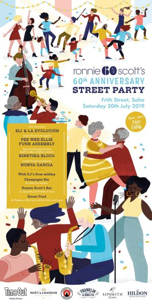 Ronnie Scott's Jazz Club Street Party