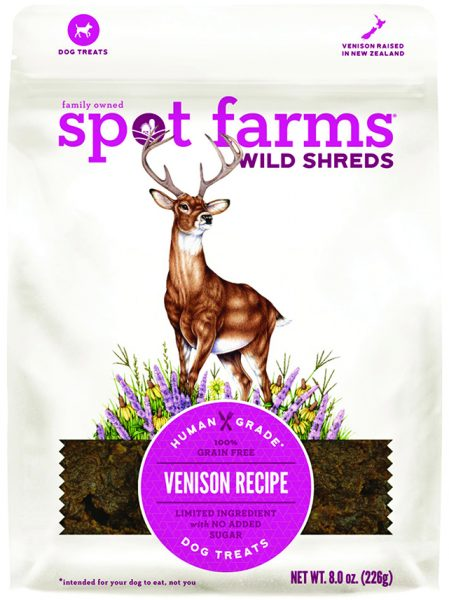 Spot farms wild shreds pet food venison deer illustration by Lizzie Harper Natural science illustrator