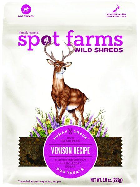 Spot farms wild shreds pet food venison deer illustration by Lizzie Harper Natural science illustrator