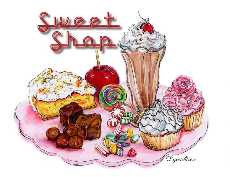Sweet Shop ~ Dyes & Ink