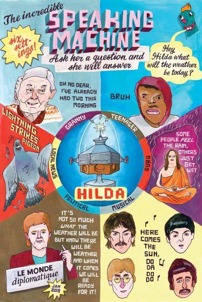 Hilda The Incredible Speaking Machine
