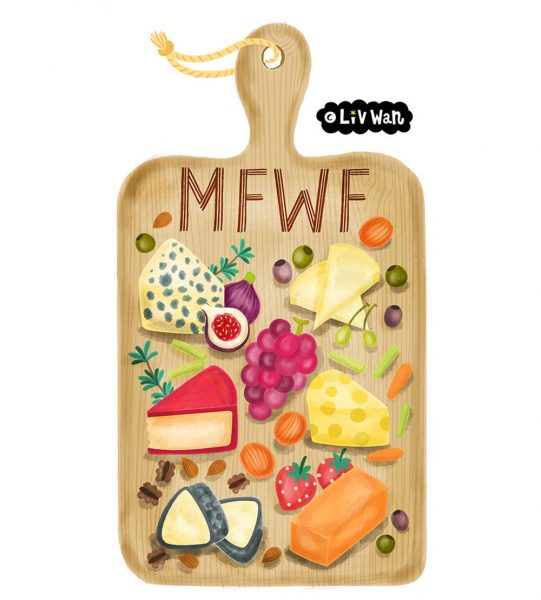 Snapchat sticker for Melbourne food and wine festival