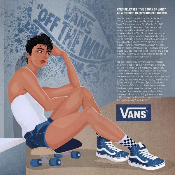 Vans girl