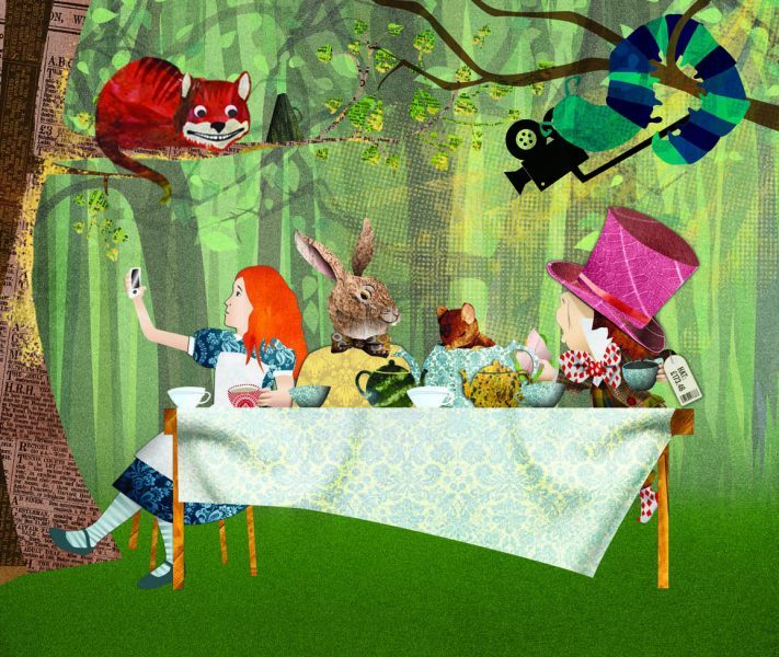 Macmillan Publishing: Alice in Wonderland Tea Party