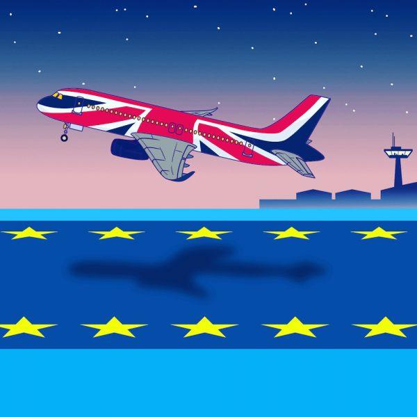Britain leaves the EU