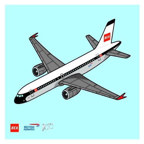British Airways 100 year Anniversary Livery