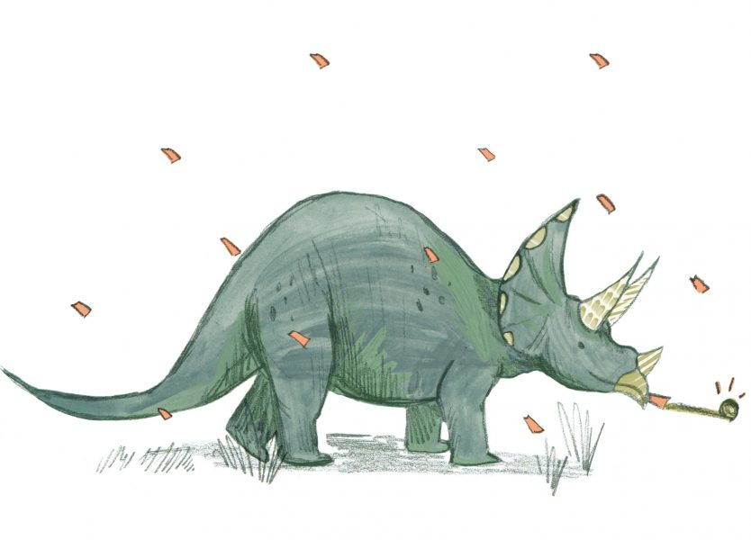 Party Triceratops