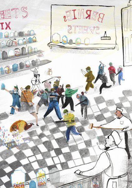 The Sweet Shop Raid