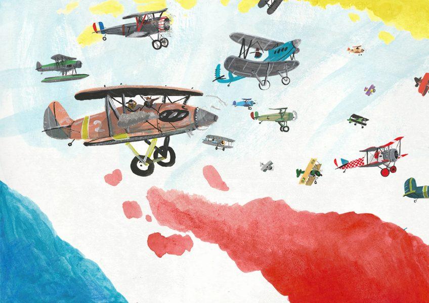 Plane Racing