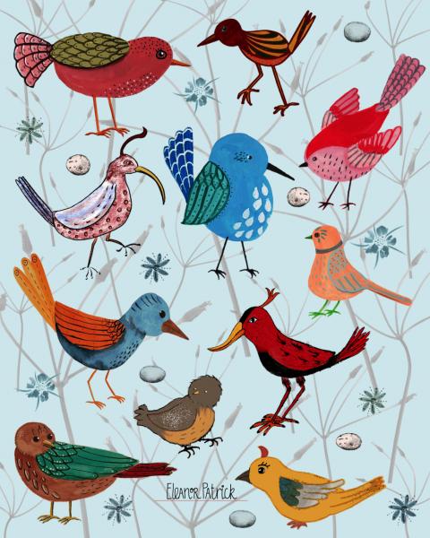 bird array