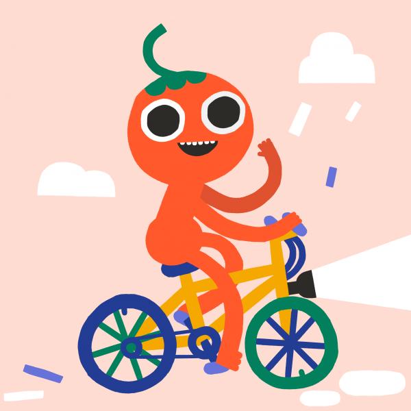 Cycling tomato - Jenni Saarenkyla