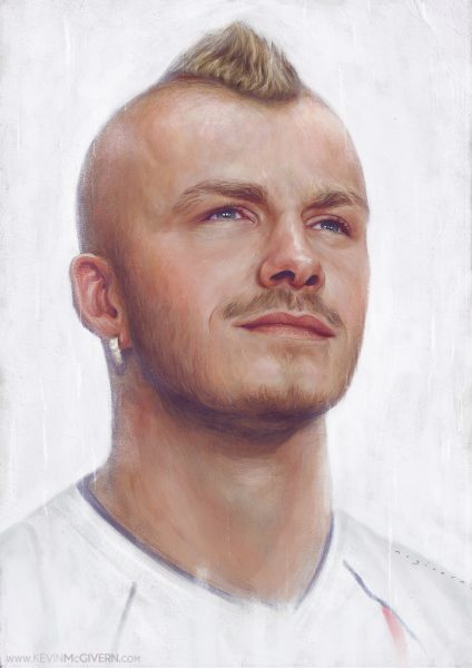 David Beckham portrait