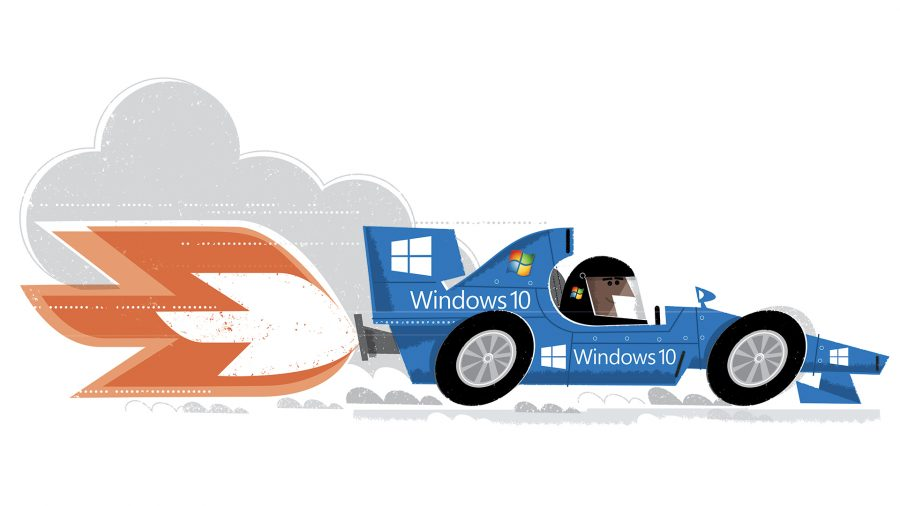 which windows racing car