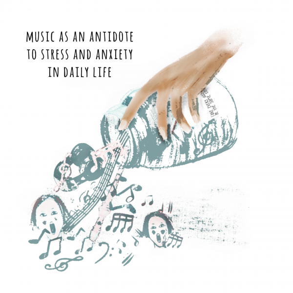 Music as antidote to stress