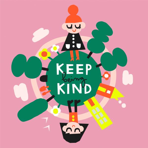 Keep kind - Jenni Saarenkyla