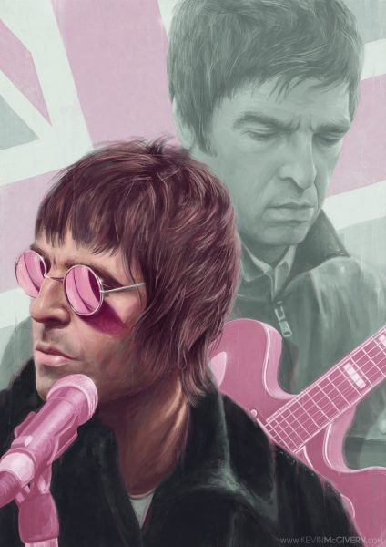 Oasis editorial illustration