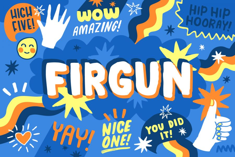 Firgun - Oxford English Dictionaries Word Of The Day Editorial Illustration & Hand Lettering