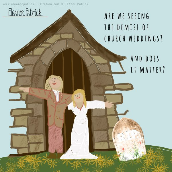 Religious Wedding Decline