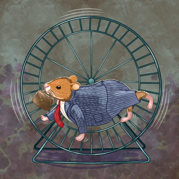 Running in the hamster wheel
