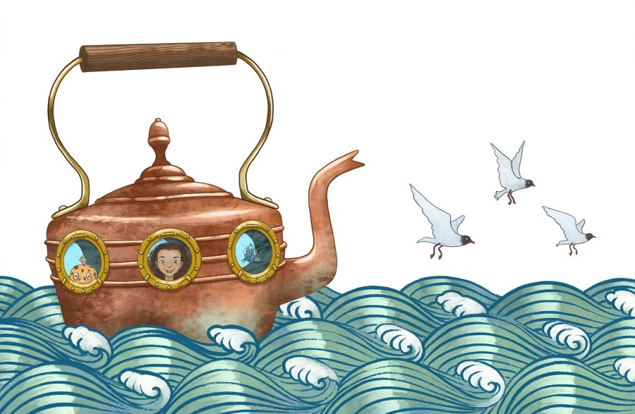 Copper Kettle Submarine