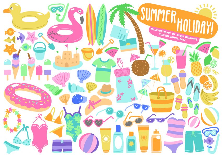 Illustration Collections - Summer Holiday