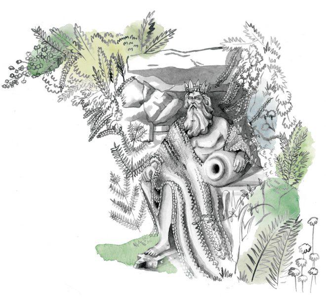 Spot Illustration for the National Trust