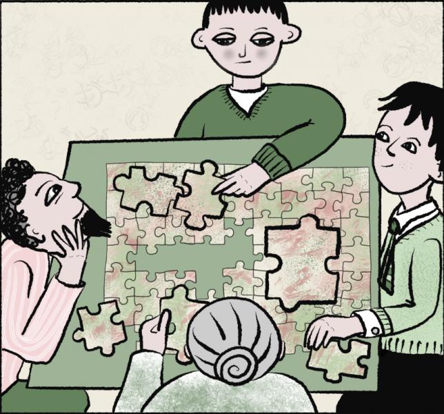 The family jigsaw