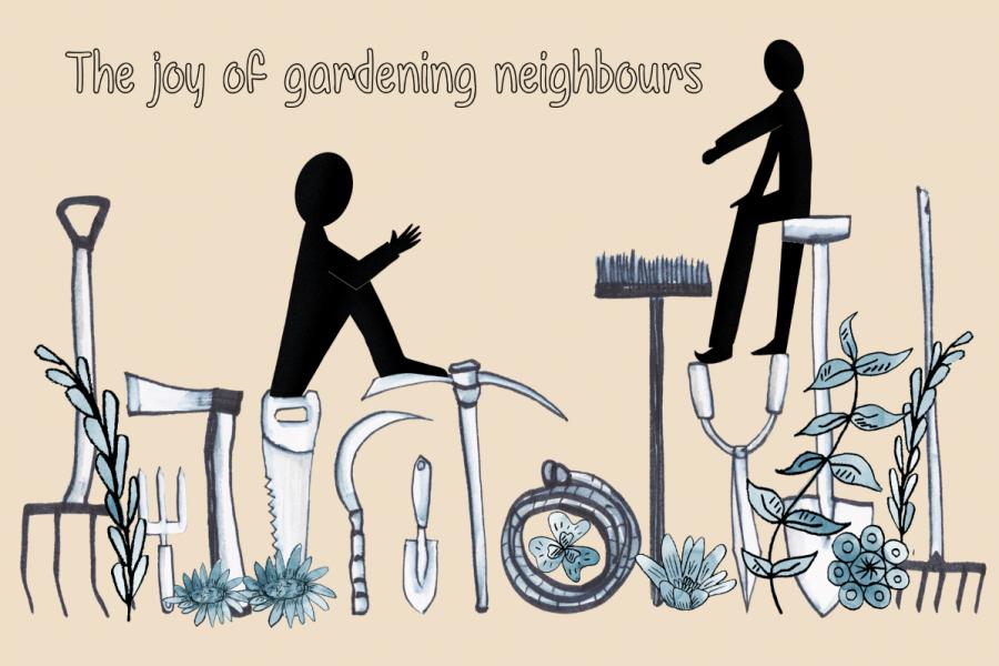 gardening neighbours