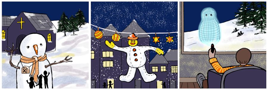 snowmen thru the ages