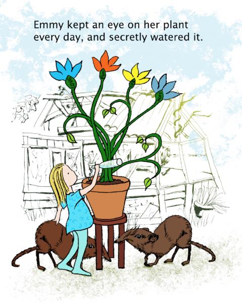 watering the plant screenshot