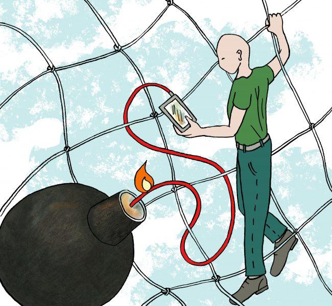 web reliance danger