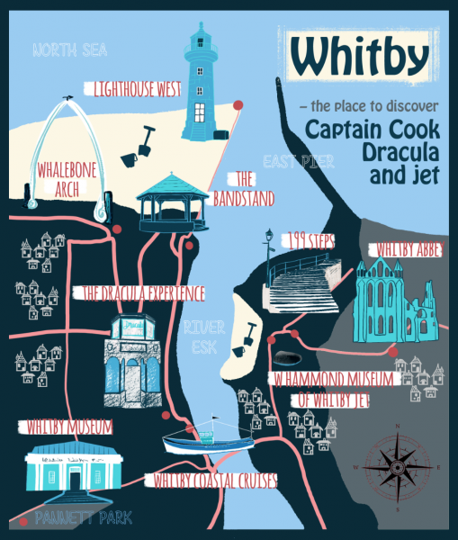 Whitby map