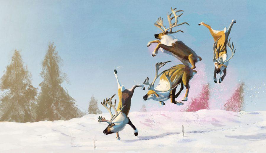 Reindeer flying school