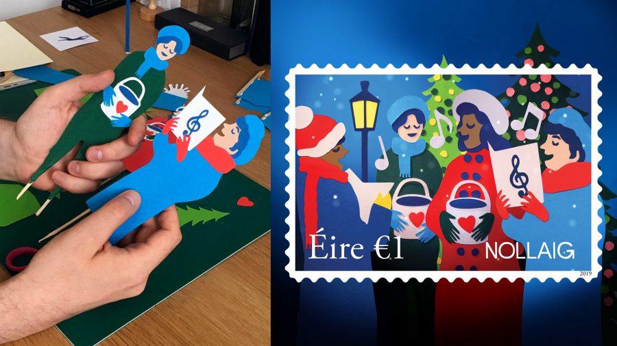 An Post Christmas Stamps
