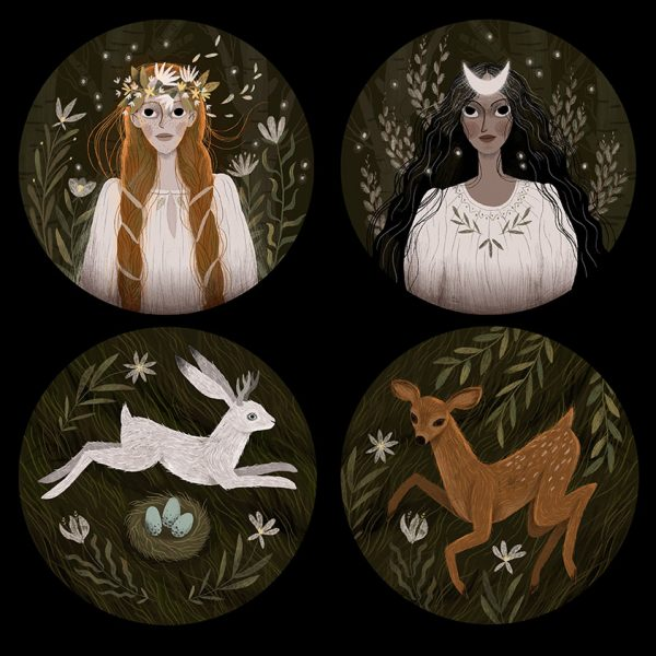 Spring Goddesses