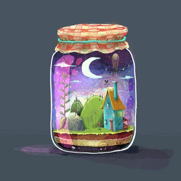 perspective jar