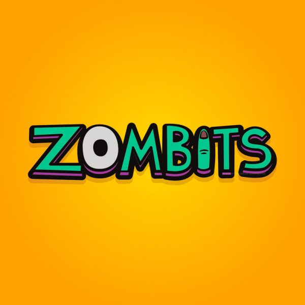 Zombits logo concept