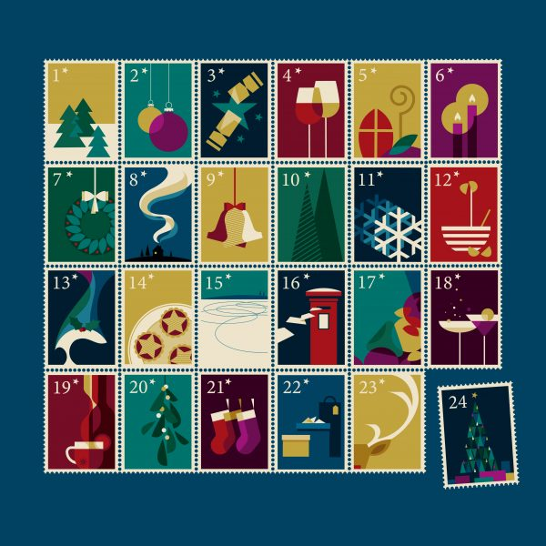 Advent Stamps