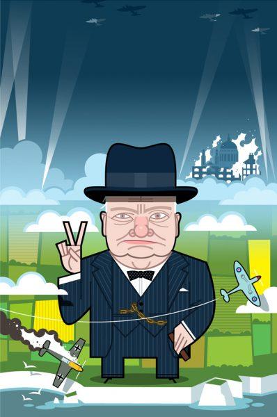 Churchill-A Very Peculiar History
